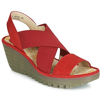 Παπούτσια Γυναίκα Γόβες Fly London YAJI Red