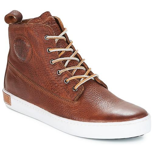 Παπούτσια Άνδρας Ψηλά Sneakers Blackstone INCH WORKER Brown