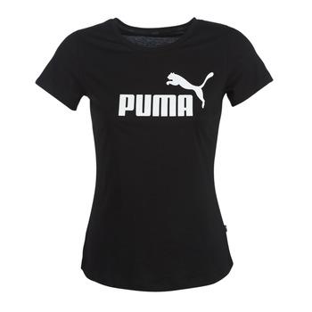 Υφασμάτινα Γυναίκα T-shirt με κοντά μανίκια Puma PERMA ESS TEE Black