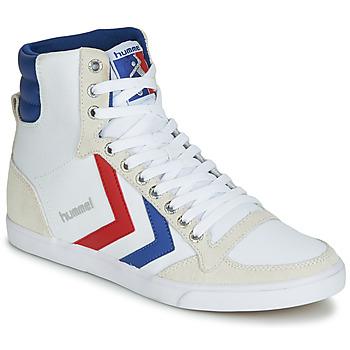 Παπούτσια Ψηλά Sneakers Hummel TEN STAR HIGH CANVAS Άσπρο
