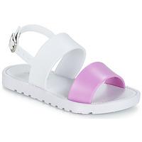 Παπούτσια Κορίτσι Σανδάλια / Πέδιλα Be Only ELEA Άσπρο / Ροζ