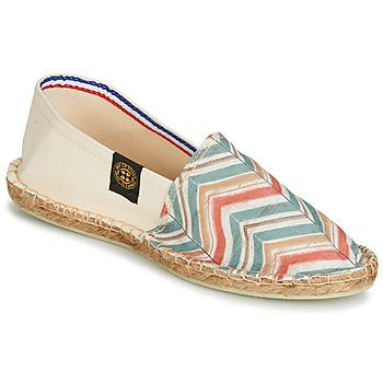 Παπούτσια Γυναίκα Εσπαντρίγια Art of Soule BOHEME BICOLOR Beige / Μπλέ / Corail