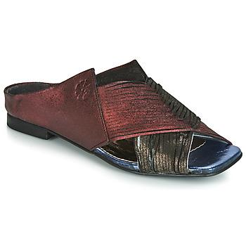 Παπούτσια Γυναίκα Τσόκαρα Papucei KEPLER Black / Bordeaux