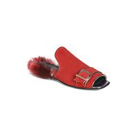 Παπούτσια Γυναίκα Τσόκαρα Papucei OBSENTUM Red