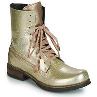 Παπούτσια Γυναίκα Μπότες Papucei JANET Green / Beige