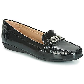 Παπούτσια Γυναίκα Μοκασσίνια Geox D ANNYTAH MOC Black