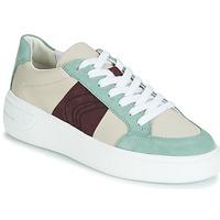 Παπούτσια Γυναίκα Χαμηλά Sneakers Geox D OTTAYA Κρεμ / Green