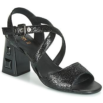 Παπούτσια Γυναίκα Σανδάλια / Πέδιλα Geox D SEYLA S. HIGH PLUS Black