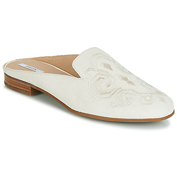 Παπούτσια Γυναίκα Τσόκαρα Geox D MARLYNA Άσπρο / Κεντητό