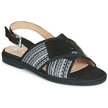 Παπούτσια Γυναίκα Σανδάλια / Πέδιλα Geox D KOLEEN Black