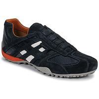 Παπούτσια Άνδρας Χαμηλά Sneakers Geox UOMO SNAKE Μπλέ / Black