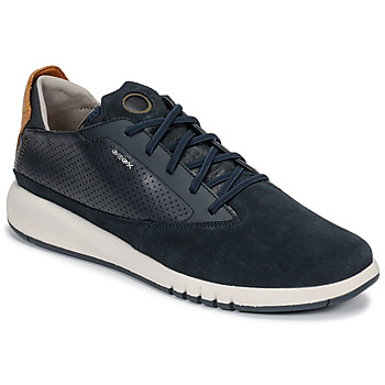 Xαμηλά Sneakers Geox U AERANTIS ΣΤΕΛΕΧΟΣ: Δέρμα / ύφασμα & ΕΠΕΝΔΥΣΗ: Συνθετικό ύφασμα & ΕΣ. ΣΟΛΑ: & ΕΞ. ΣΟΛΑ: Καουτσούκ