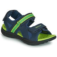 Παπούτσια Αγόρι Σπορ σανδάλια Geox J GLEEFUL BOY Μπλέ / Yellow