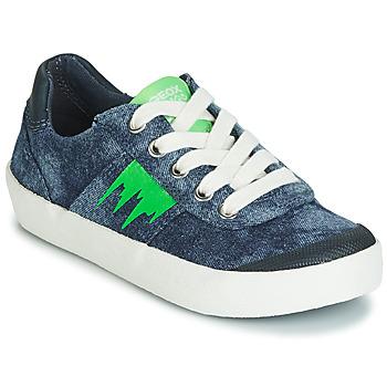 Παπούτσια Αγόρι Χαμηλά Sneakers Geox J KILWI BOY Μπλέ / Green