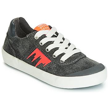 Παπούτσια Αγόρι Χαμηλά Sneakers Geox J KILWI BOY Grey / Orange