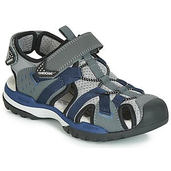 Παπούτσια Αγόρι Σπορ σανδάλια Geox J BOREALIS BOY Grey / Marine