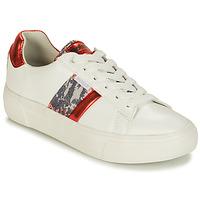 Παπούτσια Γυναίκα Χαμηλά Sneakers Refresh 69954 Άσπρο / Red