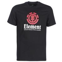 Υφασμάτινα Άνδρας T-shirt με κοντά μανίκια Element VERTICAL SS Black