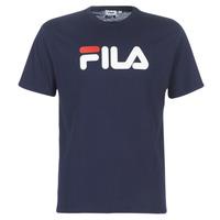 Υφασμάτινα T-shirt με κοντά μανίκια Fila PURE Short Sleeve Shirt Marine