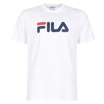 Υφασμάτινα T-shirt με κοντά μανίκια Fila PURE Short Sleeve Shirt Άσπρο