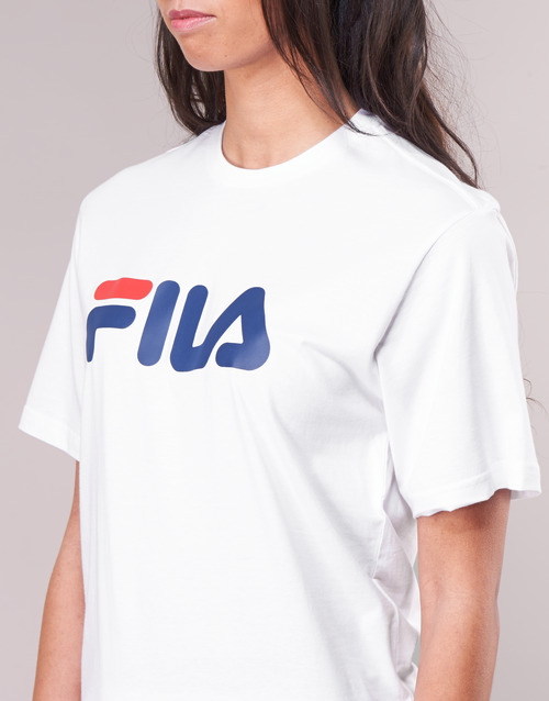 Τελευταία έκπτωση Fila PURE Short Sleeve Shirt Άσπρο zlYgv
