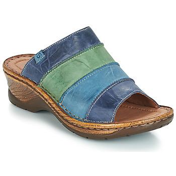 Παπούτσια Γυναίκα Τσόκαρα Josef Seibel CATALONIA 64 Μπλέ