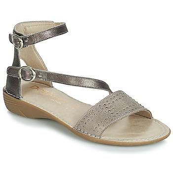 Παπούτσια Γυναίκα Σανδάλια / Πέδιλα Dorking 7863 Grey