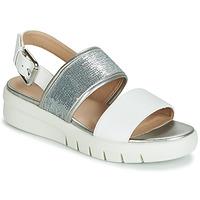 Παπούτσια Γυναίκα Σανδάλια / Πέδιλα Geox WIMBLEY SAND Ασπρό