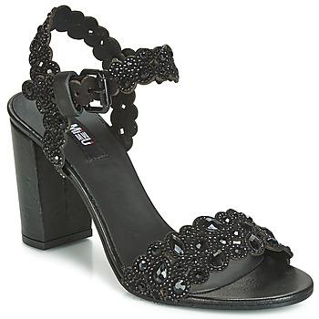 Παπούτσια Γυναίκα Σανδάλια / Πέδιλα Mimmu 567Z14 Black