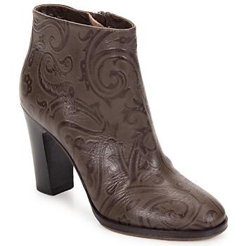 Παπούτσια Γυναίκα Μποτίνια Etro MARLENE Paisley-καφε