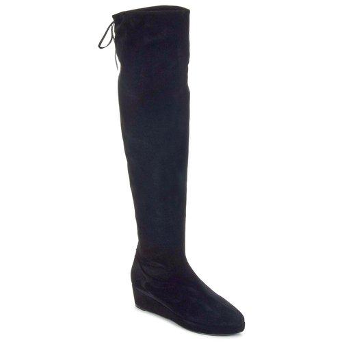 Παπούτσια Γυναίκα Ψηλές μπότες Etro NEFER Nero-μουσταρδι