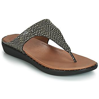 Παπούτσια Γυναίκα Σανδάλια / Πέδιλα FitFlop BANDA II DOTTED-SNAKE Natural / Snake