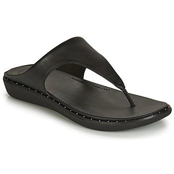 Παπούτσια Γυναίκα Σαγιονάρες FitFlop BANDA II Black