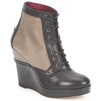 Παπούτσια Γυναίκα Μποτίνια Antonio Marras CALIB Grigio / Nero