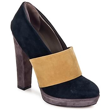 Παπούτσια Γυναίκα Γόβες Kallisté BOTTINE 5854 Γκρι-μουσταρδί