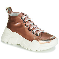 Παπούτσια Γυναίκα Χαμηλά Sneakers Fru.it 5390-850 Bronze