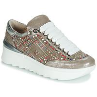 Παπούτσια Γυναίκα Χαμηλά Sneakers Fru.it 5357-008 Beige / Paillettes