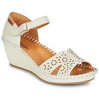 Παπούτσια Γυναίκα Σανδάλια / Πέδιλα Pikolinos MARGARITA 943 Άσπρο