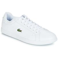 Παπούτσια Άνδρας Χαμηλά Sneakers Lacoste GRADUATE BL 1 Άσπρο