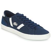 Παπούτσια Άνδρας Χαμηλά Sneakers Lacoste SIDELINE 119 1 Marine / Άσπρο