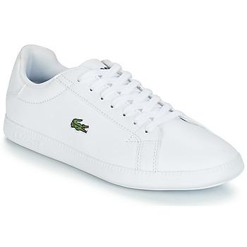Παπούτσια Γυναίκα Χαμηλά Sneakers Lacoste GRADUATE BL 1 Άσπρο