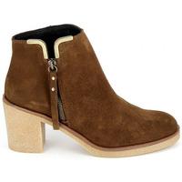 Παπούτσια Γυναίκα Μποτίνια Porronet Boots 4032 Marron Brown