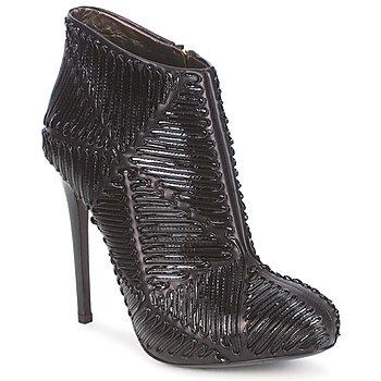 Παπούτσια Γυναίκα Μποτίνια Roberto Cavalli QPS566-PN018 Black