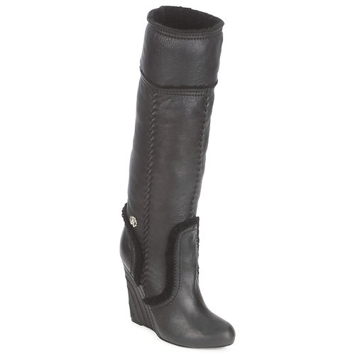 Παπούτσια Γυναίκα Μπότες για την πόλη Roberto Cavalli QDS598-PJ007 Black