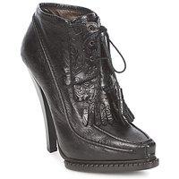 Παπούτσια Γυναίκα Μποτίνια Roberto Cavalli QDS640-PZ030 Black