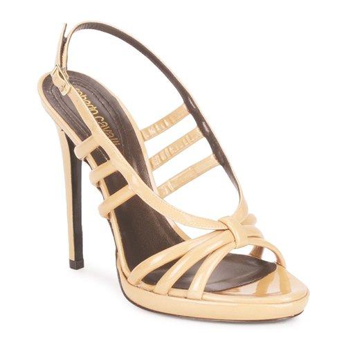 Παπούτσια Γυναίκα Σανδάλια / Πέδιλα Roberto Cavalli QDS626-PL028 Beige