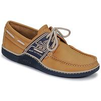 Παπούτσια Άνδρας Boat shoes TBS GLOBEK Yellow / Marine