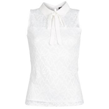 Υφασμάτινα Γυναίκα Μπλούζες Morgan DINCO Άσπρο