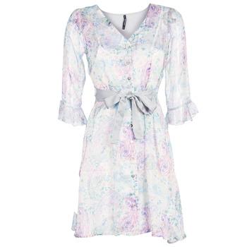 Υφασμάτινα Γυναίκα Κοντά Φορέματα Smash MALLORY Άσπρο