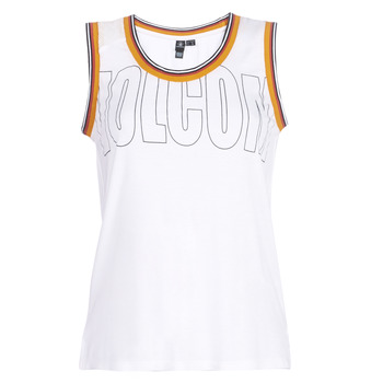 Υφασμάτινα Γυναίκα Αμάνικα / T-shirts χωρίς μανίκια Volcom IVOL TANK Άσπρο